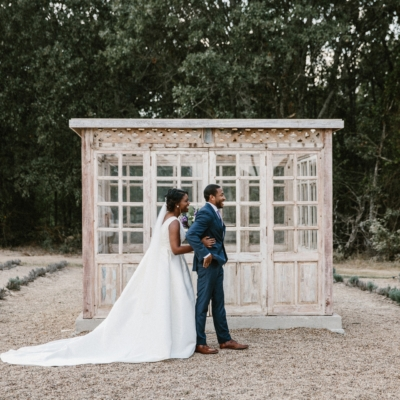 First LooRustic Wedding First Lookk