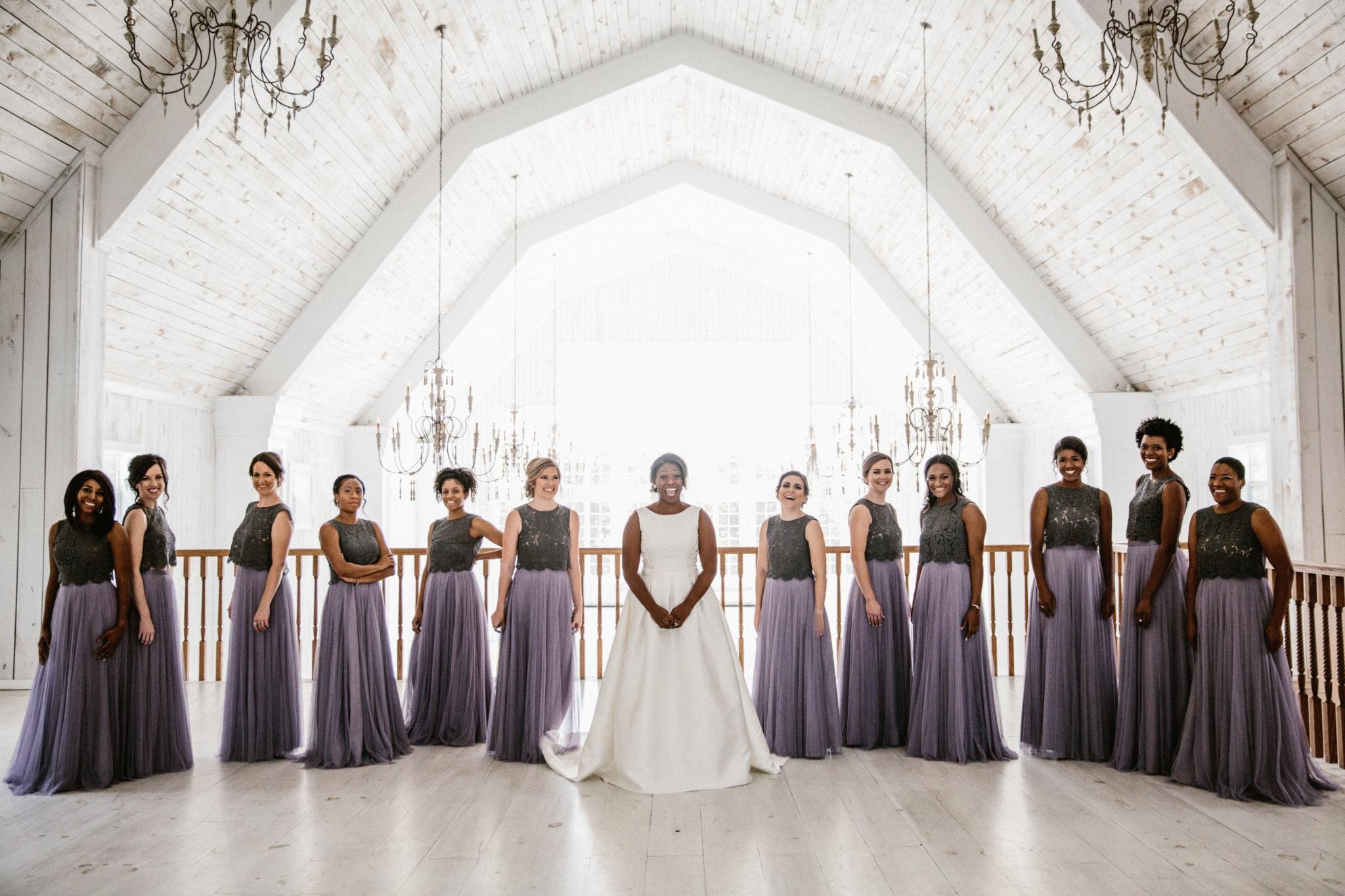 Sydnee Events Wedding Design Bridal Party