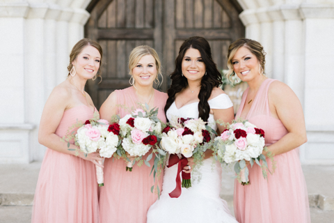 Sydnee Events Destination Wedding Bridal Party