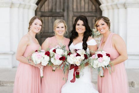 Sydnee Events Destination Wedding Bridal Party
