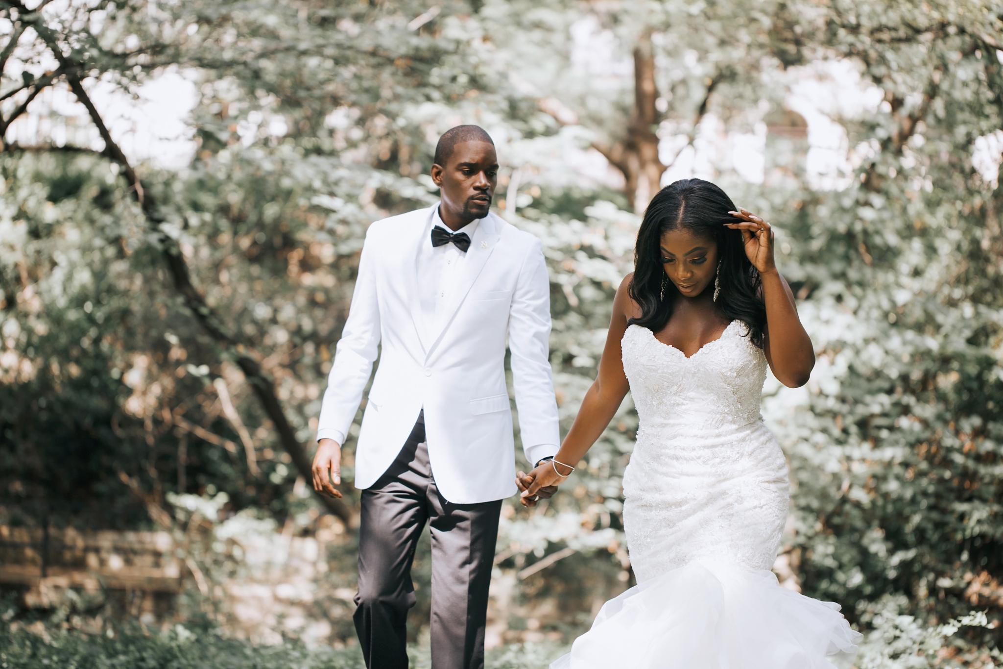 Sydnee Events Black Couple Wedding
